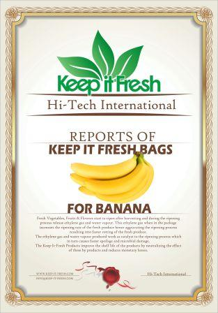 KIF Bags for Banana