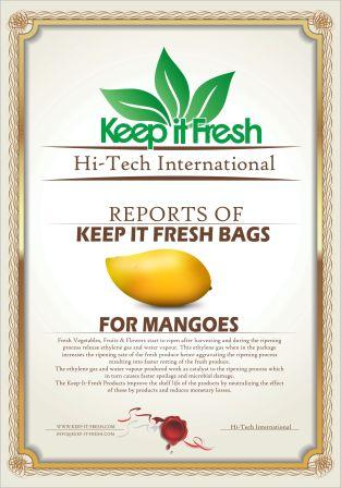 KIF Bags for Mangoes
