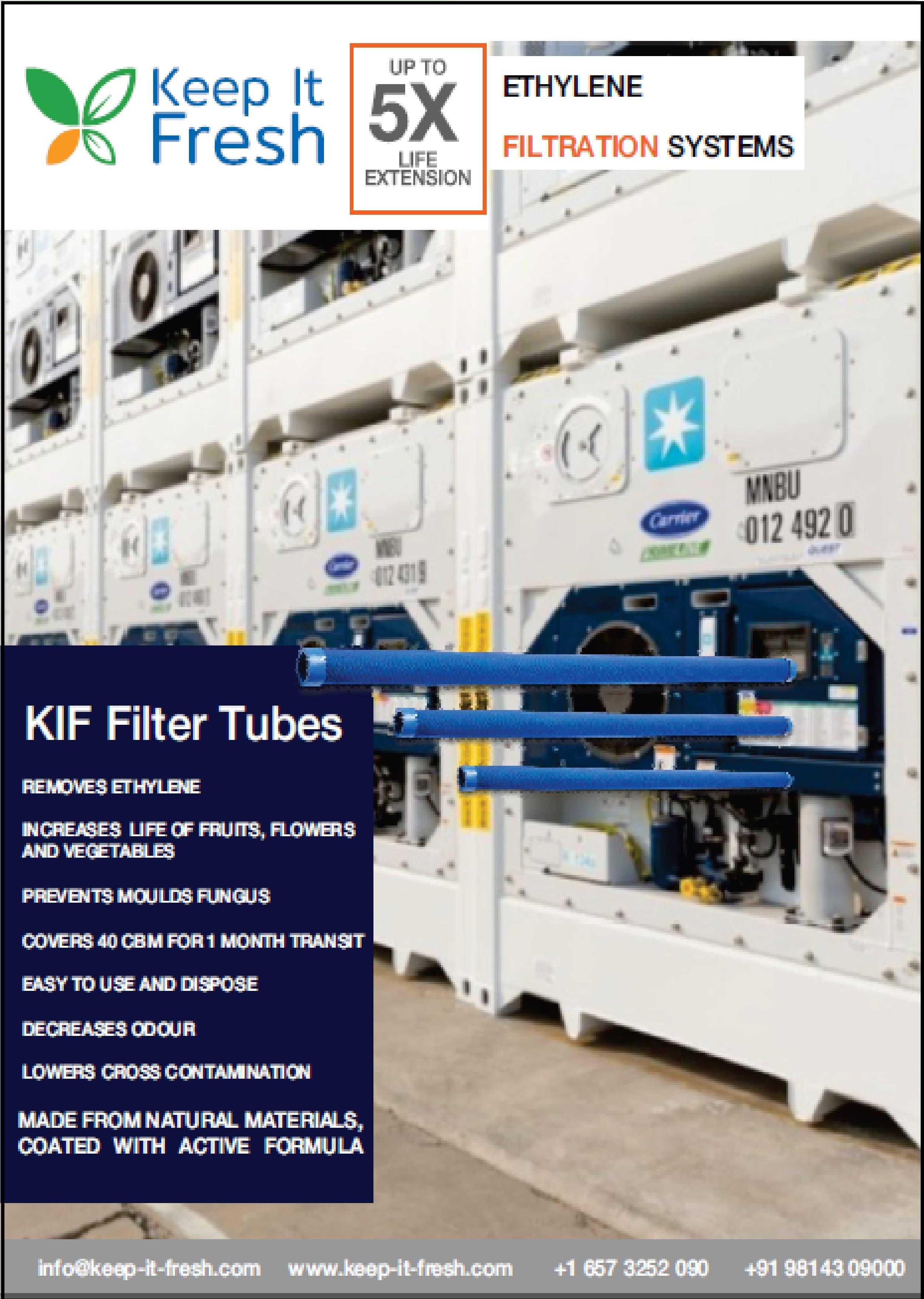 KIF FILTER TUBES